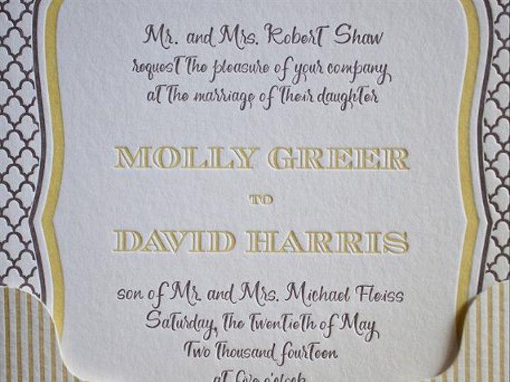 Tmx 1317232644477 IMG8615 Syracuse wedding invitation