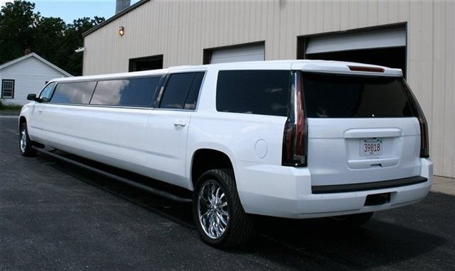 Back of the limo