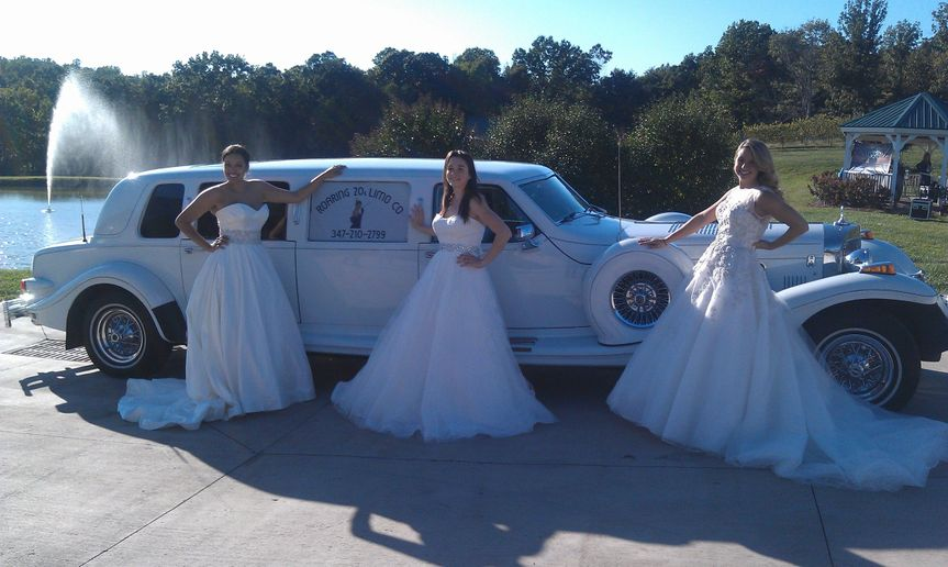 three pretty carolina brides