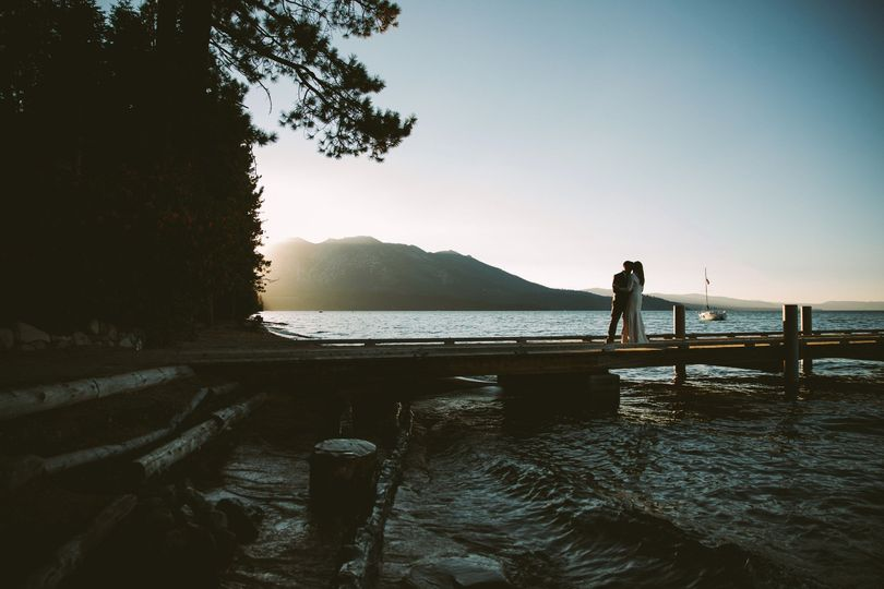 Lake Tahoe Sunset Image
