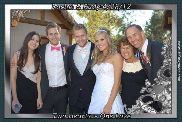 Tmx 1338402490557 Weddingmagnetframeelegantblackandwhite3 Irvine wedding rental