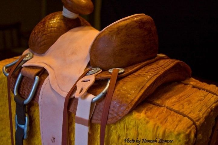 wedding saddle