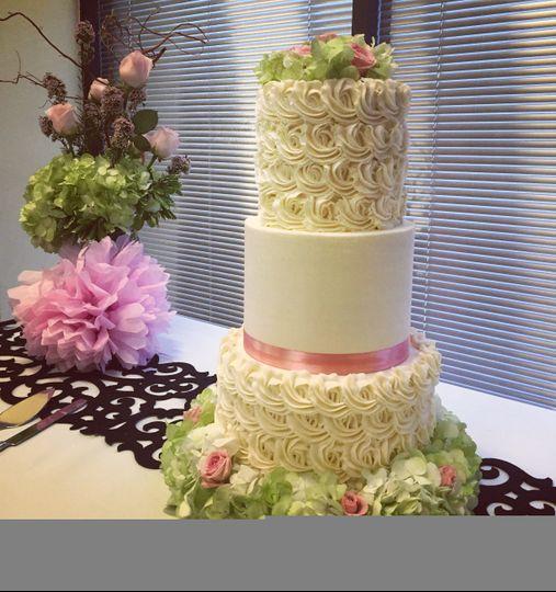 rosette wedding cake 51 116486