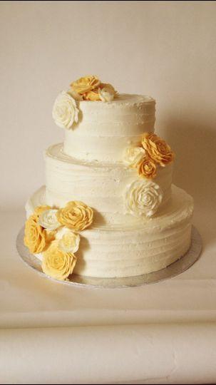 Happy Chicks Bakery - Wedding Cake - Cincinnati, OH - WeddingWire