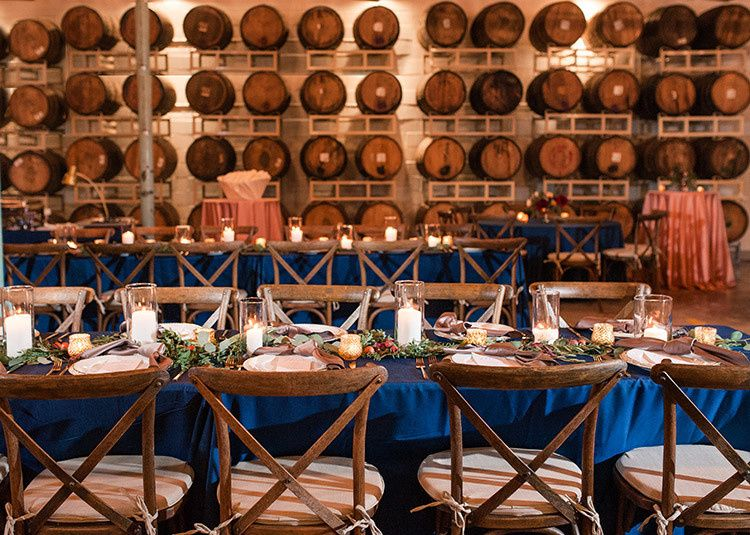 Feasting table setting
