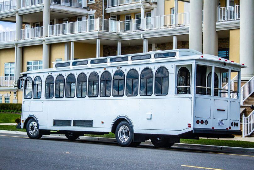 34 Passenger Trolley