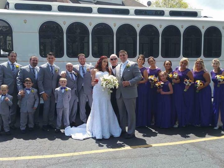 Tmx 1508950823880 Brittany Ann Trolley Manasquan, New Jersey wedding transportation