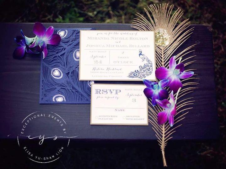 Tmx 1516848496 B7c1df9e19068f20 1516848494 5c6202d277a2893a 1516848490897 6 Platinum Peacock D Vienna, VA wedding planner