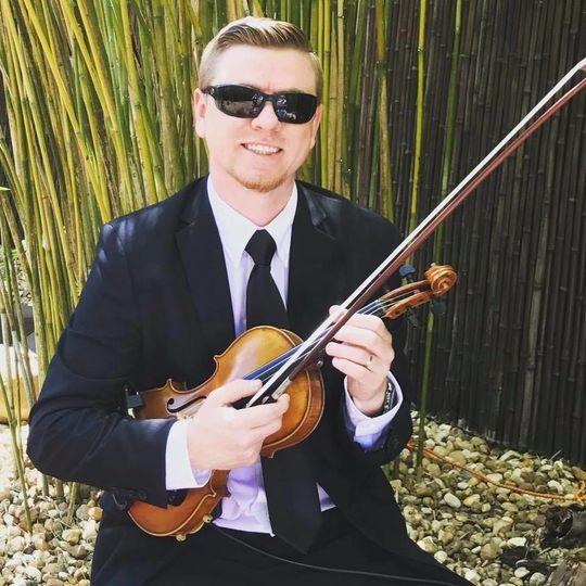 SRQ Violinist - Matt Dendy