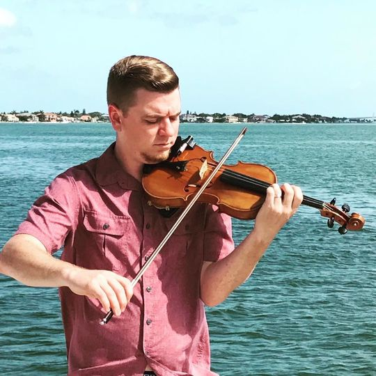 Playing by the water