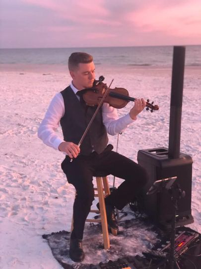 Performance at the beach