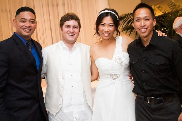 The couple with the Premier Entertainment team