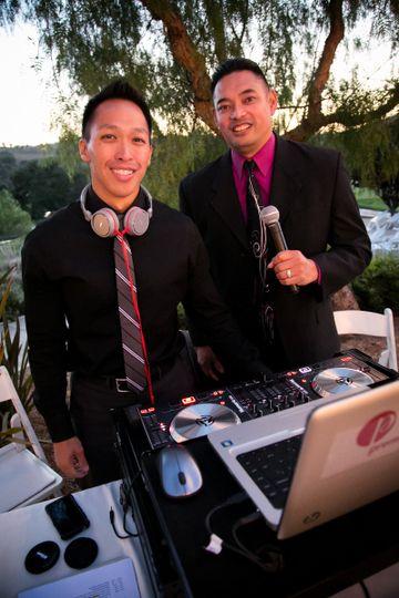 DJ and emcee