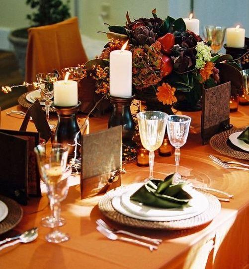 Inspirations for an Autumn wedding. Photo courtesy of Jen Fariello Photography.