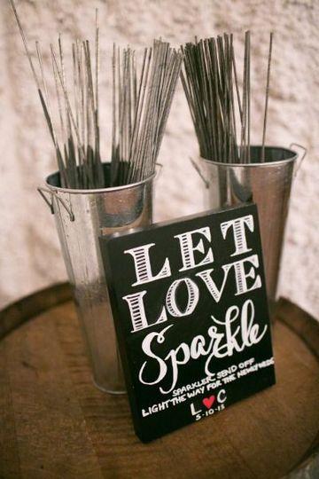 wedding sparklers love buckets 400x600