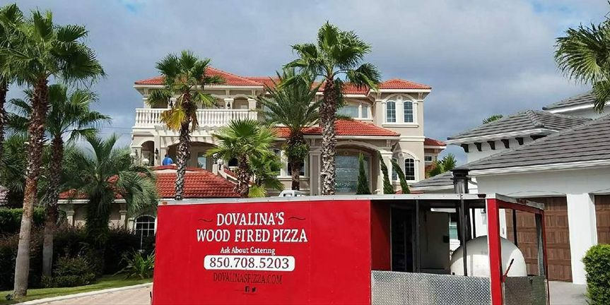 Food truck - wood-fired pizza