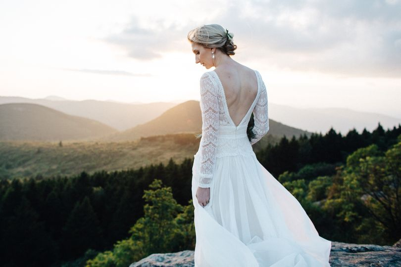 Mountain Top Bride