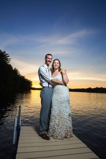 Romantic Northwoods Wedding
