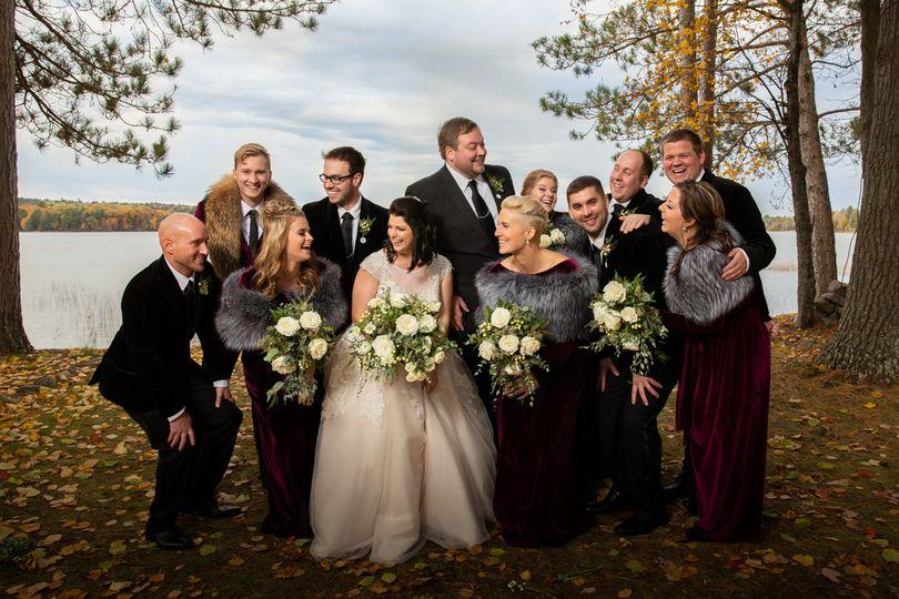 Northwoods Wedding Party