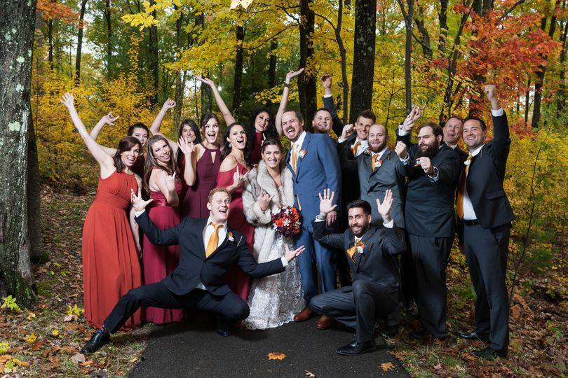 Rhinelander Fall Wedding