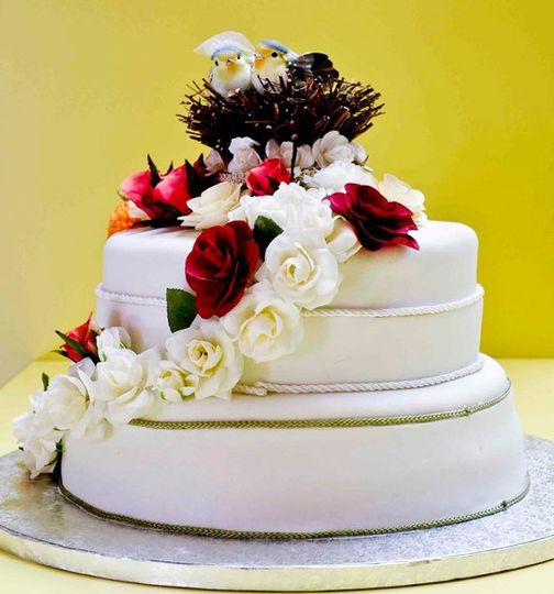 Nature Wedding Cake