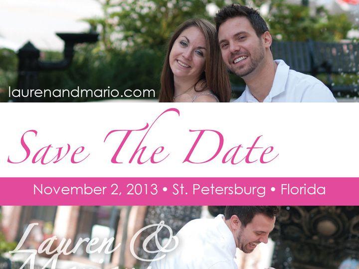 Tmx 1384813292627 Mariolaurenstd Saint Petersburg wedding invitation