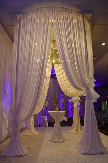 Wedding stool bar