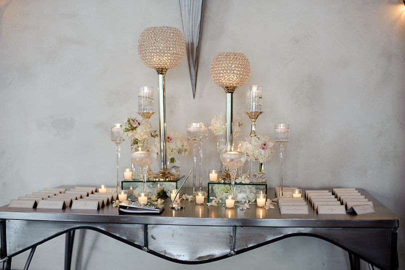 Wedding chair assignment table