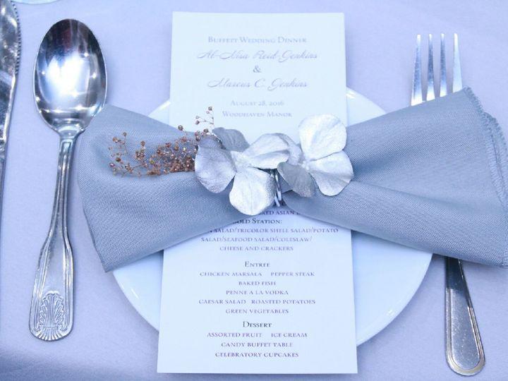 Tmx 1480447883331 Floral Napkin Brooklyn, New York wedding planner