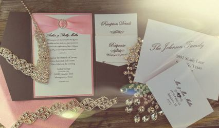 Butterfly Boutique Invitations and Designs