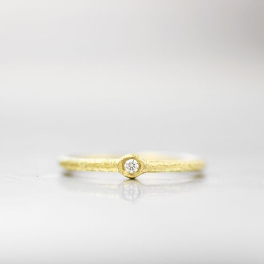 ASPEN  This sweet rounded wedding band is the ideal choice for a simple and classic look with an...
