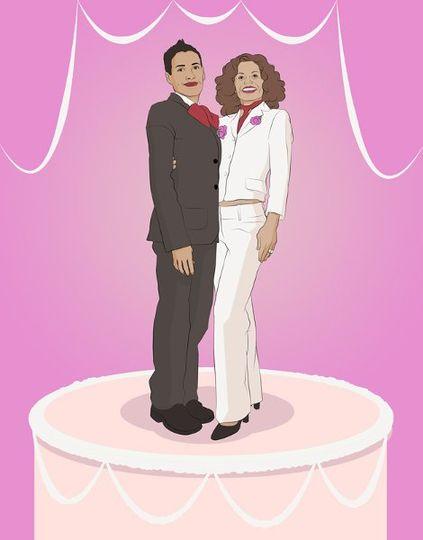 LGBT Wedding Announcement