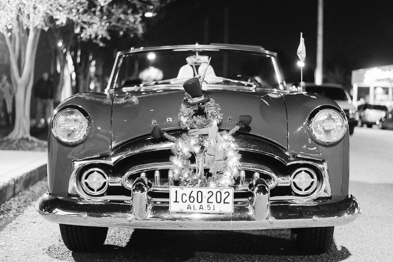 """At the Avon theater, """"Ruby"""" waits for the wedding couple on a warm December night.Thanks to """"Eric..."""