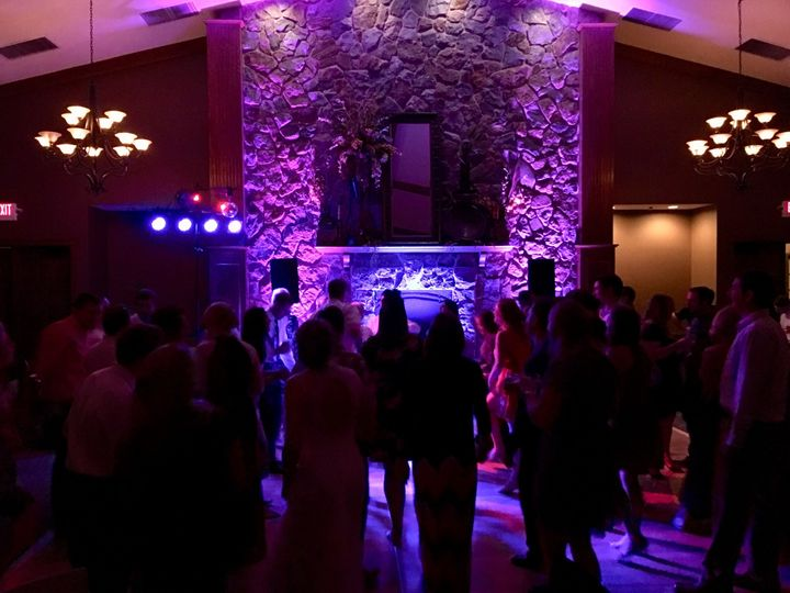 Dance Floor Uplighting