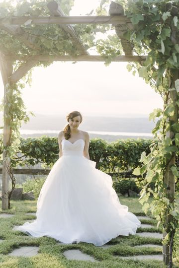 Hayley Paige sweetheart gown