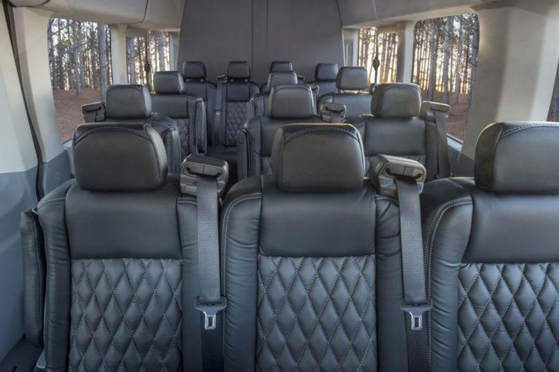 Interior Executive Van