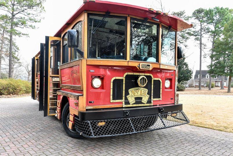 26 Passenger Modern Trolley