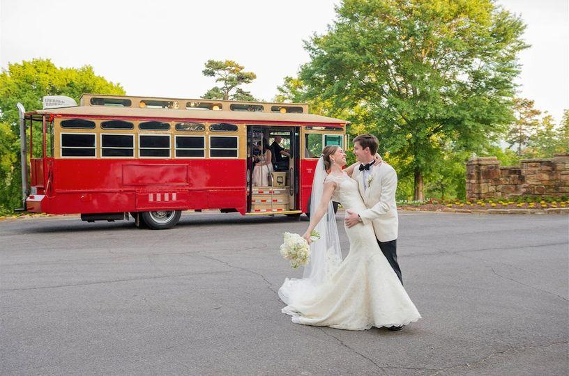 AK Brides - Vintage Trolley