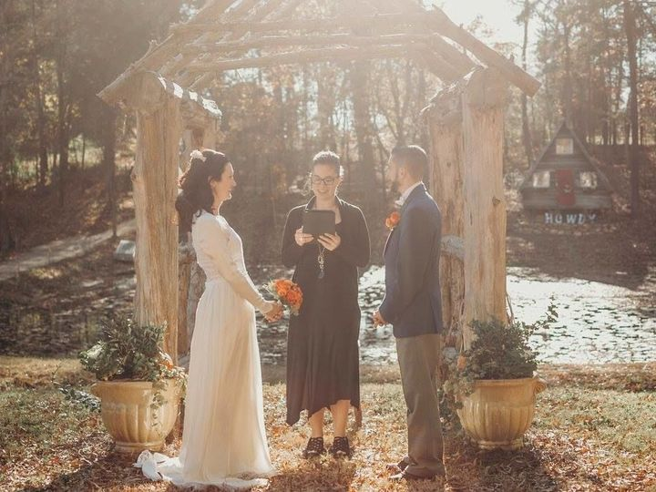 Tmx 1532029803 Bcb0c65b60cc2de1 1532029801 E7a519ea0f7d99be 1532029790671 15 Jessica Donnie 2 Asheville, North Carolina wedding officiant