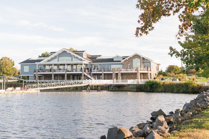 Boathouse at Mercer Lake