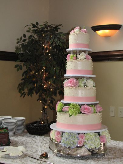 Deborahs Specialty Cakes Wedding Cake Athens GA WeddingWire