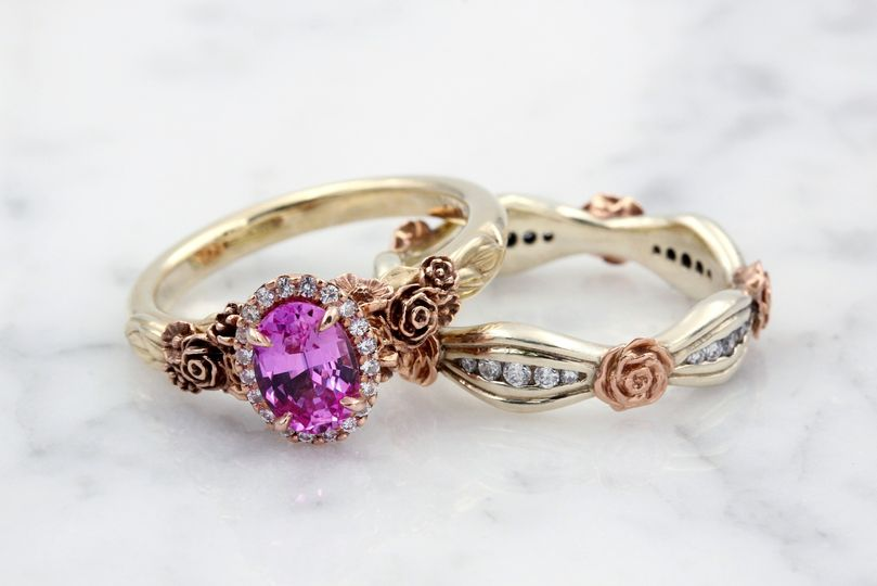 Rose and Flower Rings