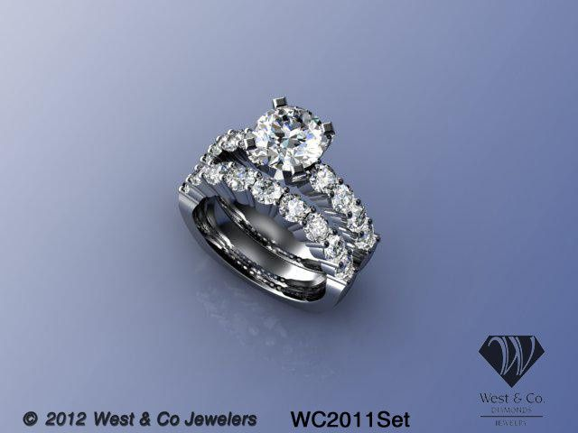 Tmx 1398540432051 14kt Shared Prong Wedding Se Webster wedding jewelry