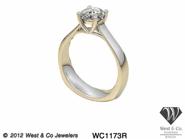 Tmx 1398540440476 14kt Trellis Rin Webster wedding jewelry