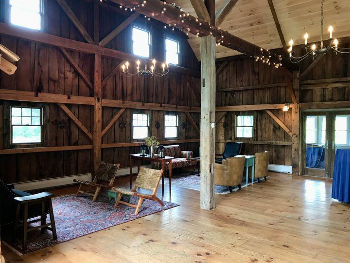 Barn interior- Barn Door Club