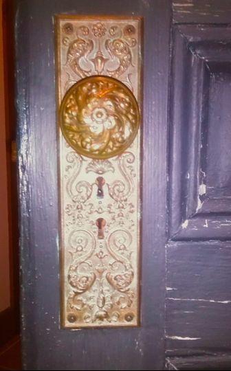 back doorknob