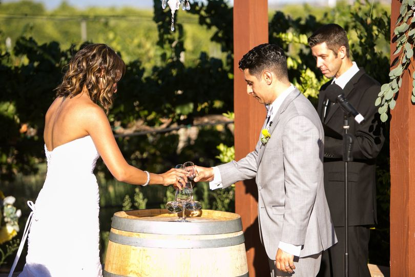The wedding traditions