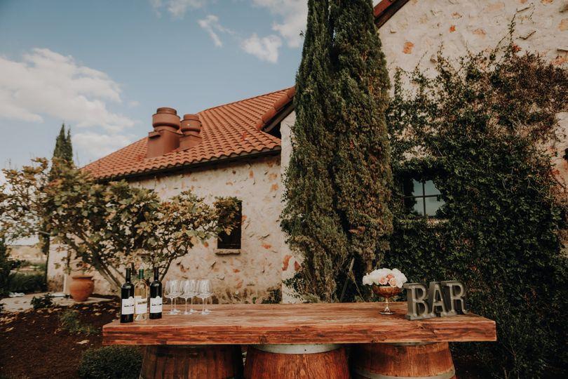 Barrel Bar at Ella Amore