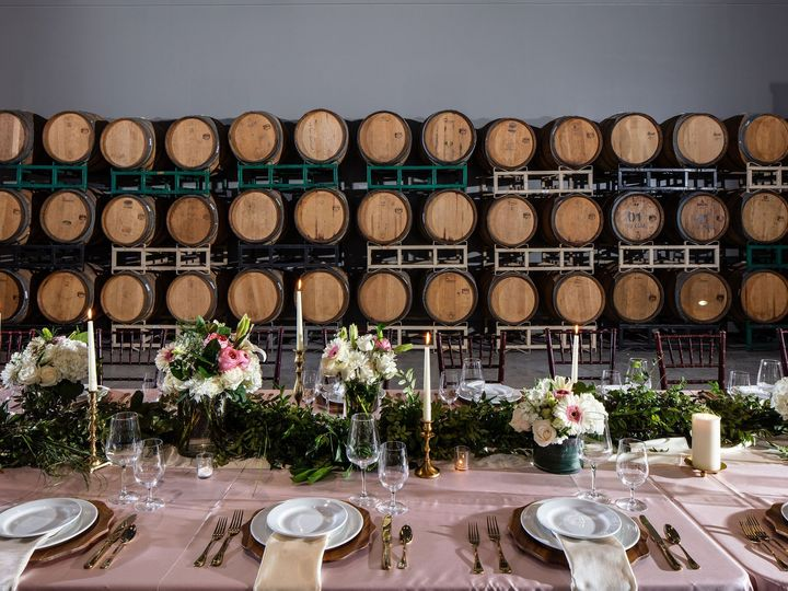 Tmx Barrel Room Long Table 51 156786 160736636763426 Florence, TX wedding venue