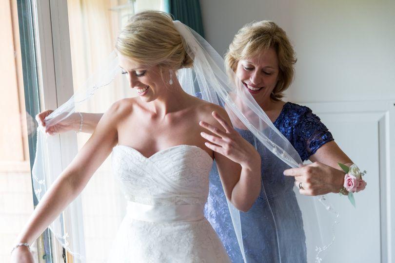 Bride Getting Ready, Seneca Lake
